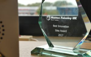 Wabtec innovation award