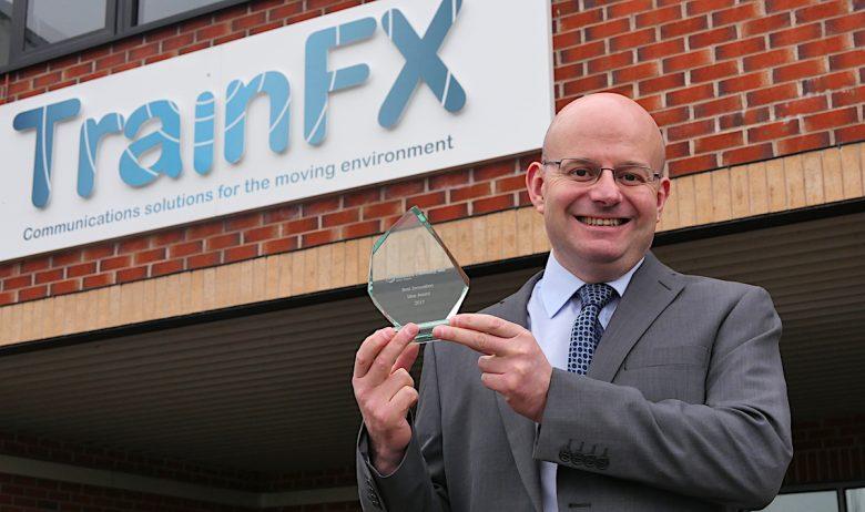 David Bradley - TrainFX win innovation award