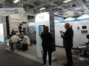 TrainFX Stand at Innotrans 2018 in Berlin